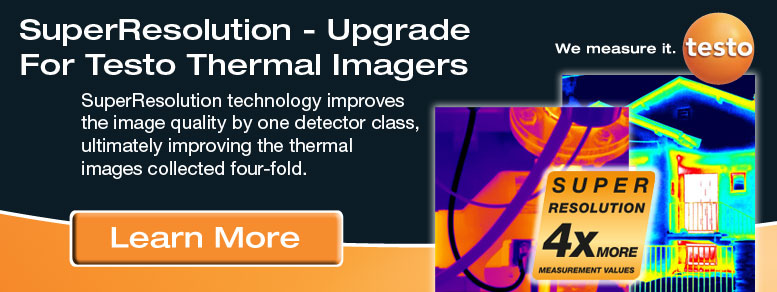 Testo SuperResolution for Thermal Imaging
